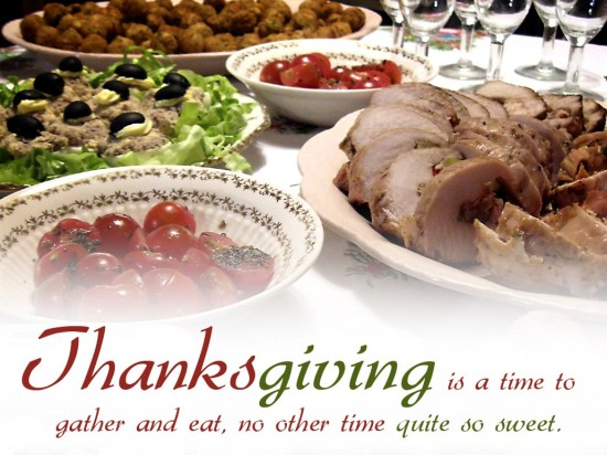 Thanksgiving is a time to gather